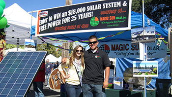 Magic Sun is a Solar contractor in Loomis, CA.